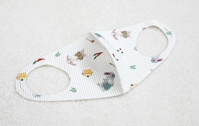 Reusable Ion Infused Face Mask (2-4yrs old) - Cooking Rabbit