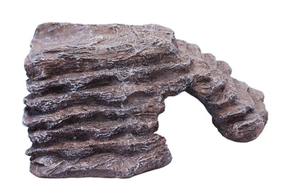Aqualife Komodo Basking Platform Corner Ramp Brown Large