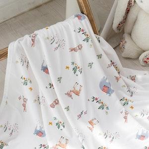 Bebenuvo Hygiene Ice Blanket/Swaddle Wrap - Botanic Lovers