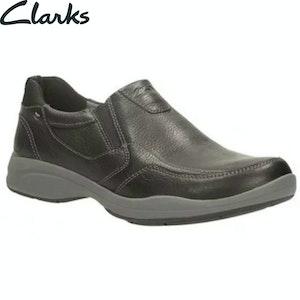 Boutique Medical CLARKS Men's Wavekorey Free Formal Slip On Dress Leather Shoes G Width Fit