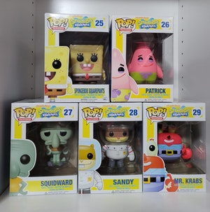 Spongebob Squarepants - Original Pop Vinyl Complete Set!