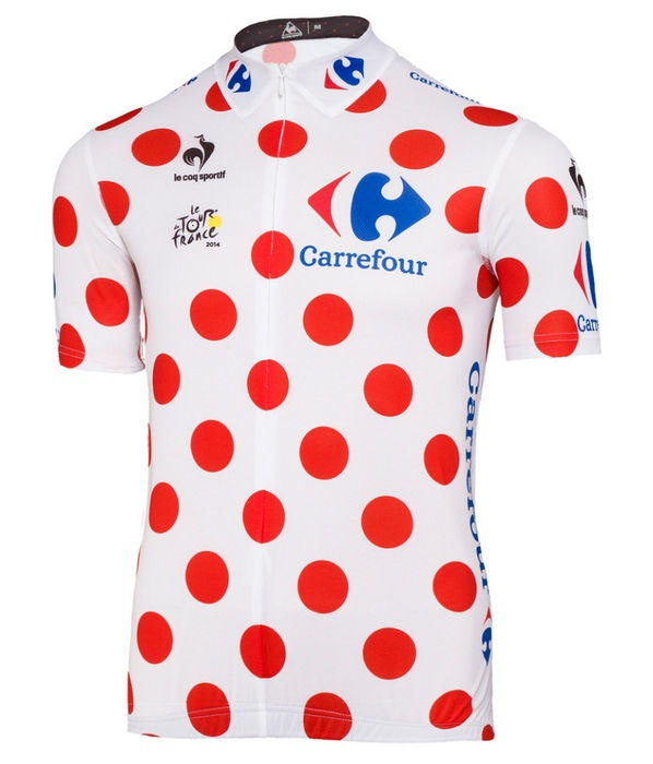 King of the Mountain The Tour de France polka dot jersey