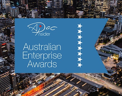 Winner in the Australian Enterprise Awards 2020