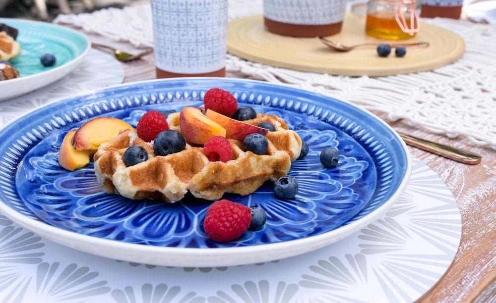 Boho Berry Waffles Recipe