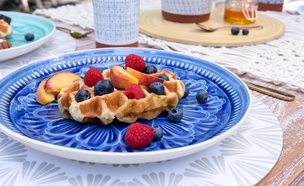 Boho Berry Waffles Recipe
