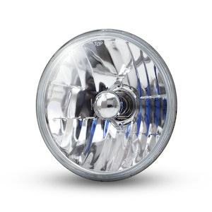 "7"" Crystal Semi Sealed Beam Headlight Insert"