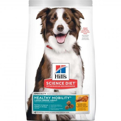 Hills Hill's Science Diet Large Breed Healthy Mobility Adult Chicken Dry Dog Food 12kg