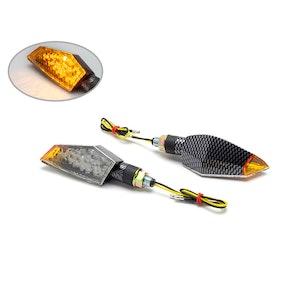 Dover Orange Tip LED Indicators - Carbon