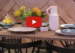 Alisa & Lysandra, Industrial Dining Room Style