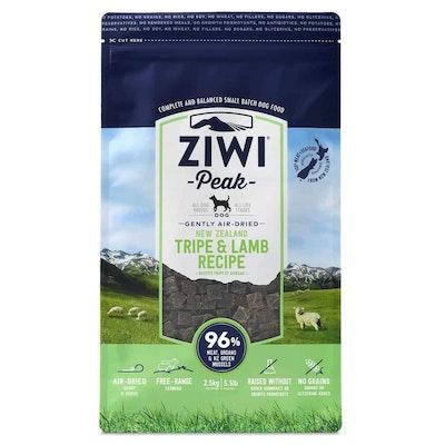 ZiwiPeak Air Dried Tripe & Lamb Dry Dog Food