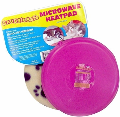 Snugglesafe Microwave Heat Pad for Dogs Cats & Small Animals