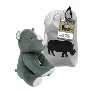 BTAG Education Plush Rhino GOTS Certified Organic Cotton