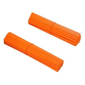 Spoke Wraps - Fluro Orange