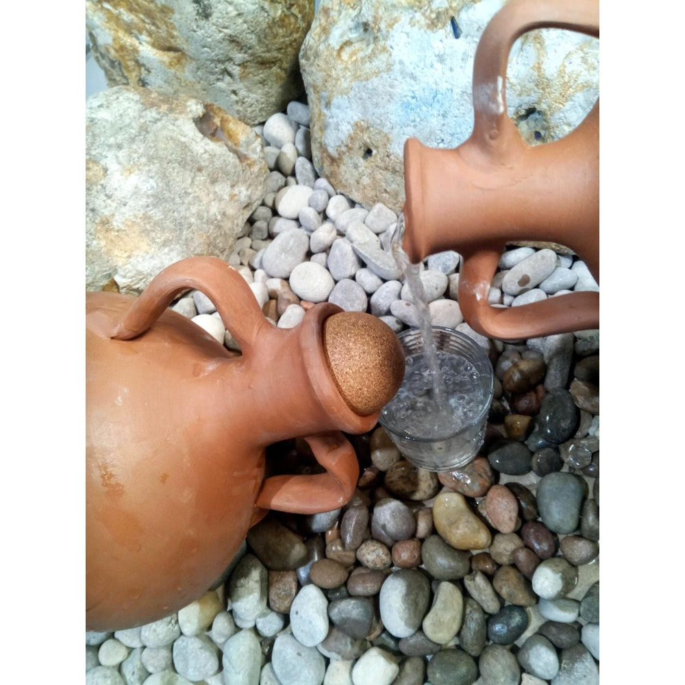 Natural Spa Supplies Amphora, Urn, Pot For Water Purification, Detox, Conditioning And Energizing