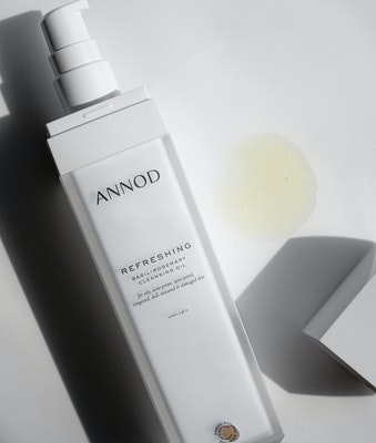 Annod Natural Skincare Refreshing Basil-Rosemary Cleansing Oil