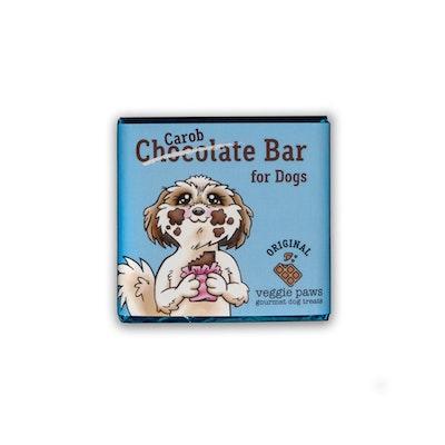 Veggie Paws Chocolate (Carob) Bar for Dogs - Original