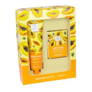 The Australian Cosmetics Company Goats Milk Paw Paw Hand Cream & Body Soap