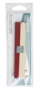 Basic Care 10-Piece Emery Boards Manicure Pedicure Tools Value Pack