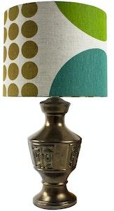 Harlequin Lampshade - Green