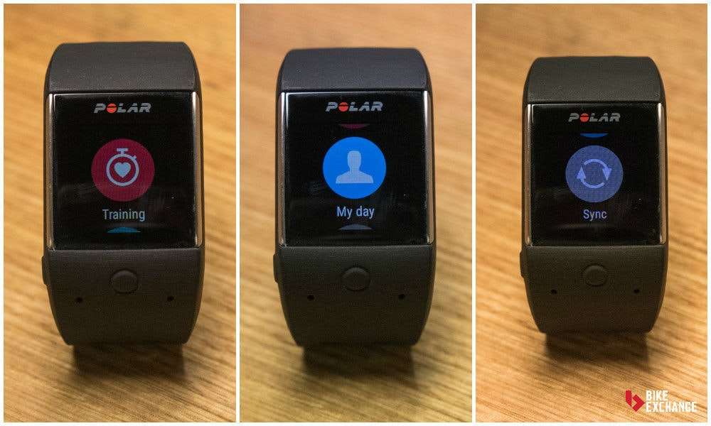 fullpage polar m 600 gps sports watch review training mode
