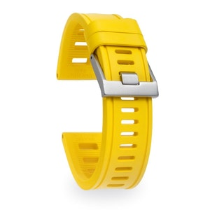 Isofrane Dive Watch Rubber Strap Yellow