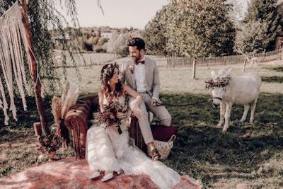 Inspirationen für deine Boho-Hochzeit im Herbst – Styled Shoot