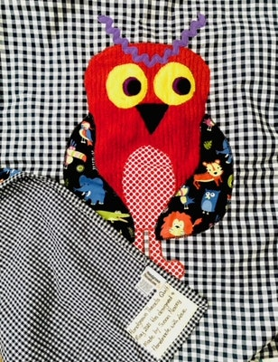 Handgrown Threads Mr Owl Quilt
