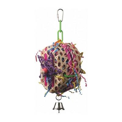 SuperBird Basket Case Bird Toy for Caiques Conures Lories & Pionus 25 x 10cm