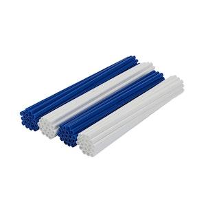Spoke Wraps - Blue and White