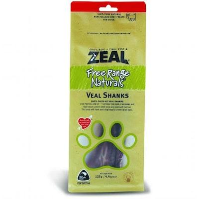 ZEAL FRN Zeal Free Range Naturals Veal Shanks Dog Treats 125G