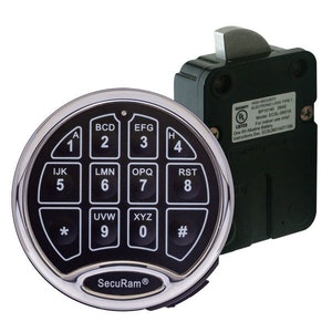 Securam Digital Swingbolt Electronic Safe Lock