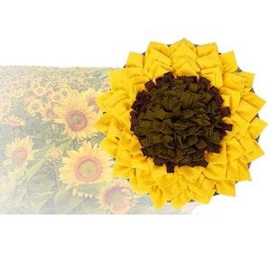 DoggyTopia Sunflower Snuffle Mat