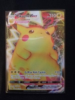 Pikachu VMAX Ultra Rare Full Art (044/185) (NM) Pokemon TCG