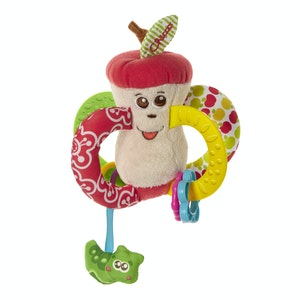 Chicco Easy To Grip Apple Textile Rattle