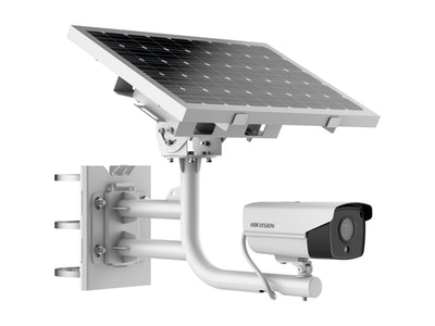 HIKVISION 2MP standalone 4G solar CCTV camera kit , includes 40w solar panel & 20Ah back up battery