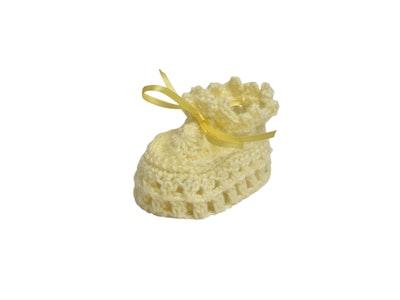 Wildchase Booties - Crocheted - Lemon