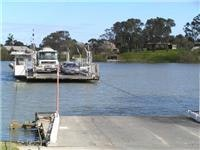 Murray River ferry link to Langhorne Creek