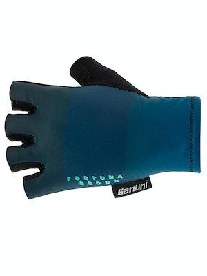 Santini Fortuna Gloves Teal