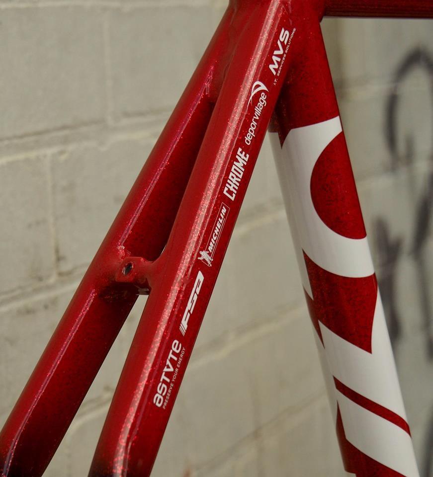 Cinelli Vigorelli Red Hook Team Bike 2018