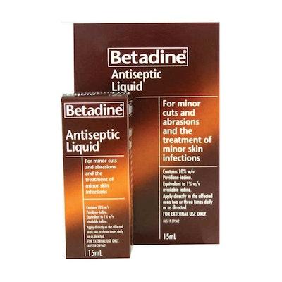 BETADINE Liquid Treatment For Minor Infection 15ml