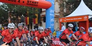 Santos Tour Down Under January 2013