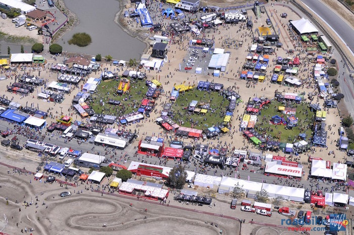 Sea Otter Classic Crowds