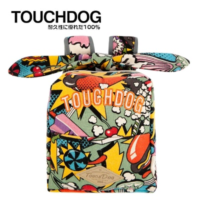 TOUCHDOG Rabbit Ears Picnic Bag - Hotdog