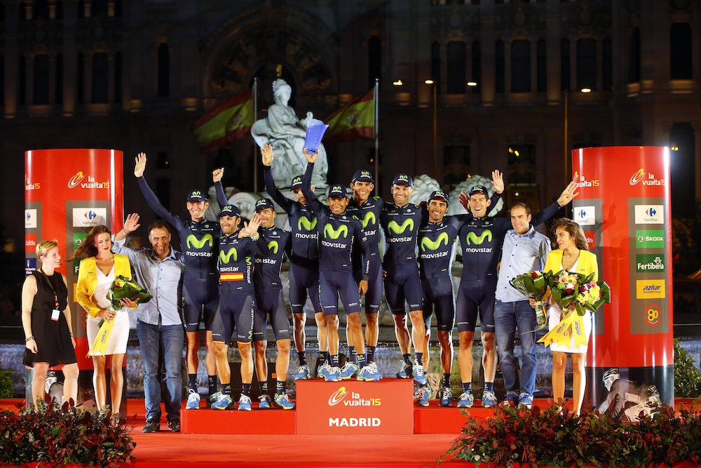 Movistar stage 21 vuelta