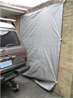 Heat-beater easyklip holds reflector tarp in all  weathers