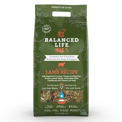 BALANCED LIFE Lamb Air Dried Dog Food 3.5kg