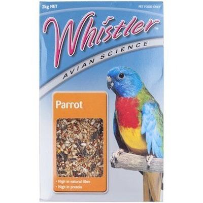 Lovitts Whistler Avian Science Parrot Bird Food Mix 2kg