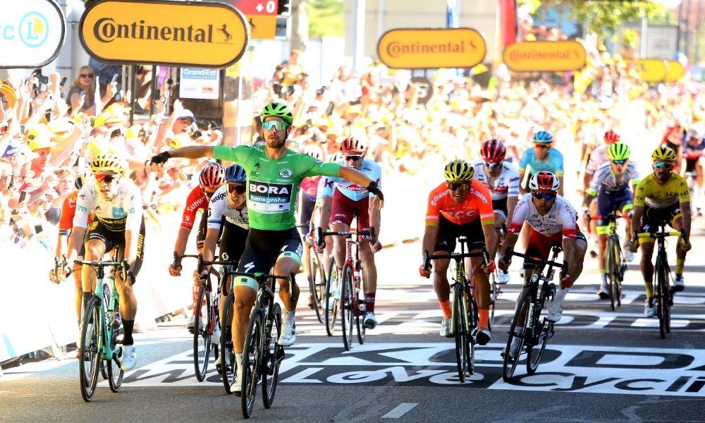 La Superestrella Sagan se Desquita - La 5ta Etapa del Tour 2019.