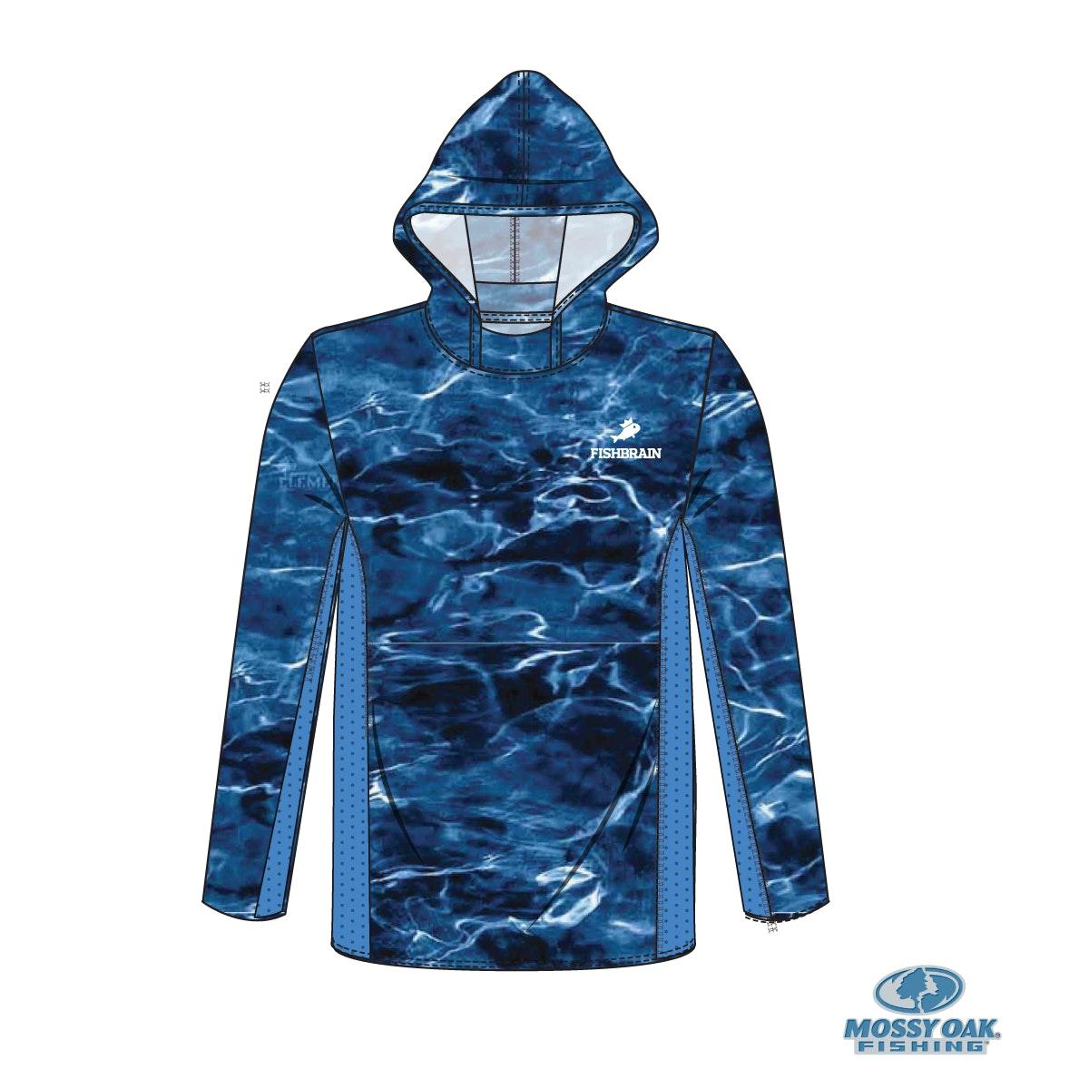 Mossy Oak Hooded LS Performance Shirt