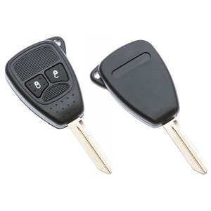 Silca Chrysler 2 Button Replacement Key Shell